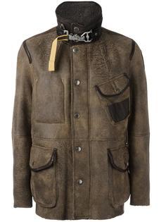 кожаная куртка на пуговицах Parajumpers