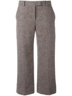 укороченные широкие брюки Agnona