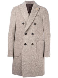 двубортное пальто Lardini