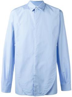 поплиновая рубашка с потайной застежкой Maison Margiela