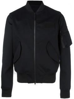 куртка бомбер с карманом на рукаве Aspesi