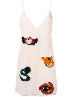 embroidered slip dress Au Jour Le Jour