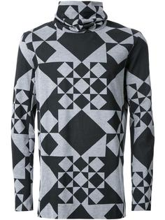 geometric print sweatshirt Kazuyuki Kumagai