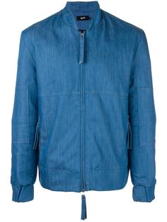 denim bomber jacket Blood Brother