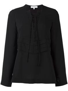 блузка с вырезом на шнуровке Iro