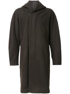 oversized hooded coat Kazuyuki Kumagai