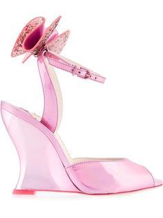 bow detail wedge sandals Sophia Webster