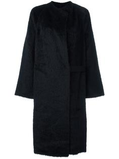 'Shaggy' long coat  Helmut Lang