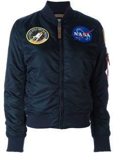 куртка-бомбер 'NASA MA-1'  Alpha Industries