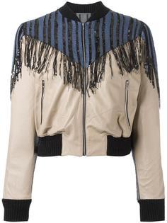 fringed jacket  Aviù