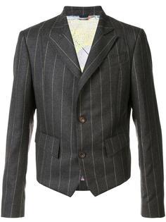pinstripe short blazer Vivienne Westwood Man