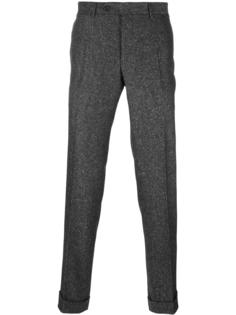 pleated tapered trousers Canali