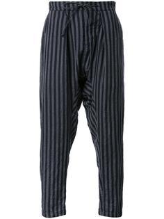 striped loose fit trousers Kazuyuki Kumagai