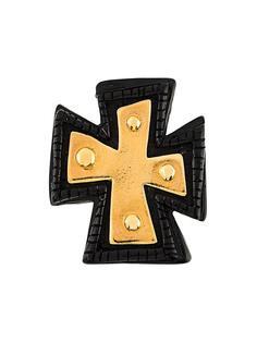 cross brooch Christian Lacroix Vintage