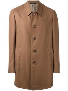 пальто на пуговицах Corneliani