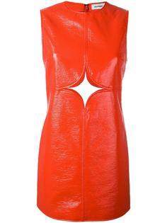 cut-off detailing dress Courrèges