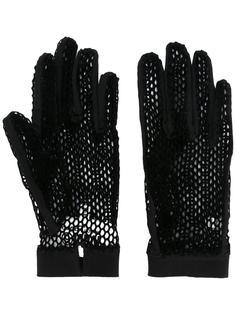сетчатые перчатки Mm6 Maison Margiela