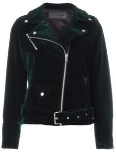 байкерская куртка на молнии Route Des Garden