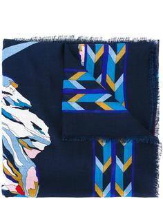 шарф с принтом гор Emilio Pucci