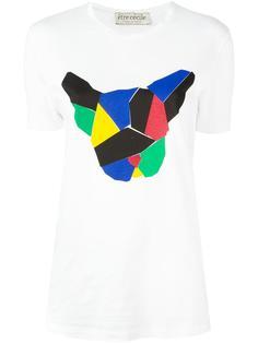 футболка с принтом собаки Être Cécile