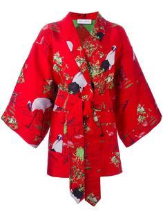 кимоно с цаплями Weili Zheng