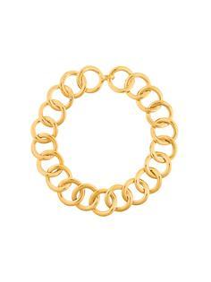 массивное ожерелье Chanel Vintage