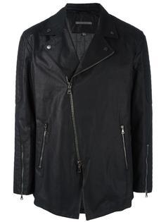 куртка с асимметричной застежкой-молнией John Varvatos