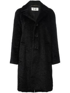 пальто на пуговицах Saint Laurent