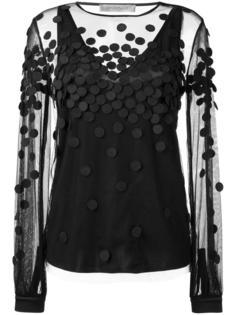 прозрачная блузка Sportmax