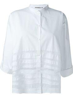 рубашка с кружевными вставками Ermanno Scervino
