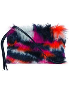 сумка на плечо из искусственного меха McQ Alexander McQueen