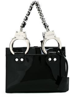 сумка-тоут с наручниками Moschino