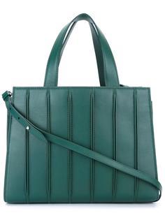 средняя сумка-тоут с отделкой в рубчик Max Mara