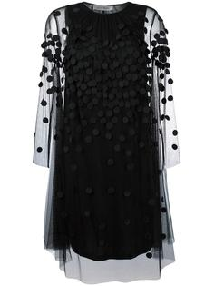 dotted tulle overlay dress Sportmax