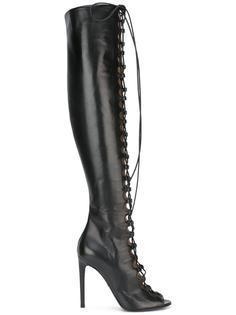 ботфорты со шнуровкой Giambattista Valli