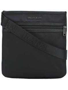 сумка-мессенджер на молнии Armani Jeans