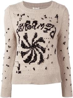 декорированный джемпер с круглым вырезом Marc Jacobs