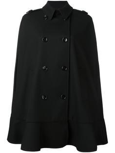 расклешенное пальто без рукавов Red Valentino