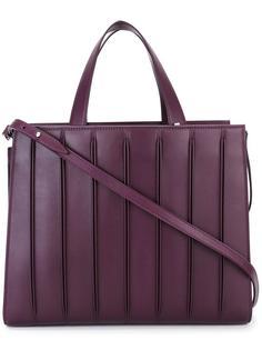 большая сумка-тоут  с отделкой в рубчик Max Mara