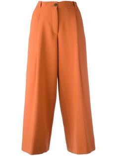 укороченные широкие брюки Maurizio Pecoraro