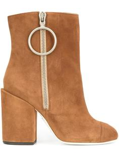 zipped ankle boots Off-White