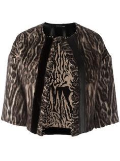 укороченная жаккардовая куртка Maurizio Pecoraro