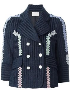 velvet lurex jacquard jacket Peter Pilotto