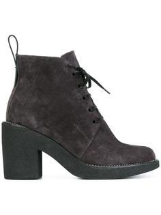 lace-up boots  Jil Sander Navy