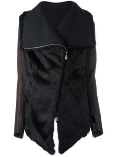 меховая куртка с объемным воротником 10Sei0otto