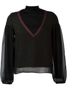 knitted panel top  Kolor