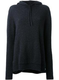 свитер с запахом на спине  Dion Lee