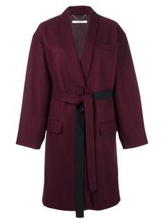 пальто с поясом Givenchy