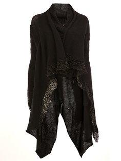 draped cardi-coat Masnada