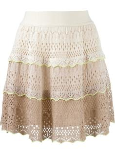 knit flared skirt Cecilia Prado
